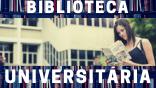 Banner da biblioteca universitária